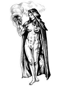 Hexegezeichnet von Björn Lensig, mit freundlicher Genehmigung